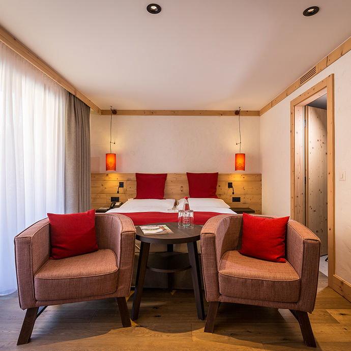Chambre Double Standard De L'hôtel Spitzhorn, Saanen-Gstaad